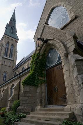 Menacing Church Doors