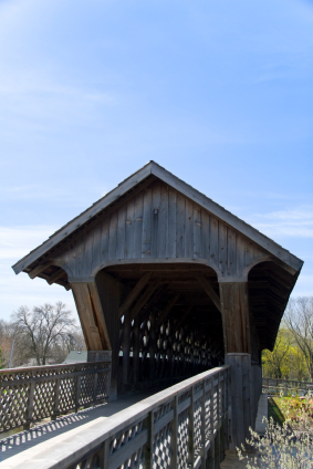 Covered Footbridge Guelph