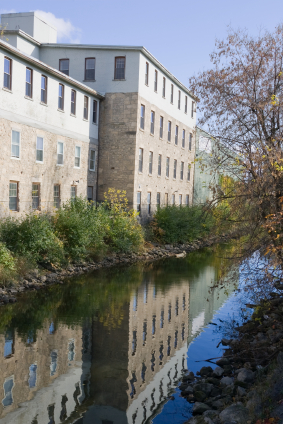 Building by River Guelph