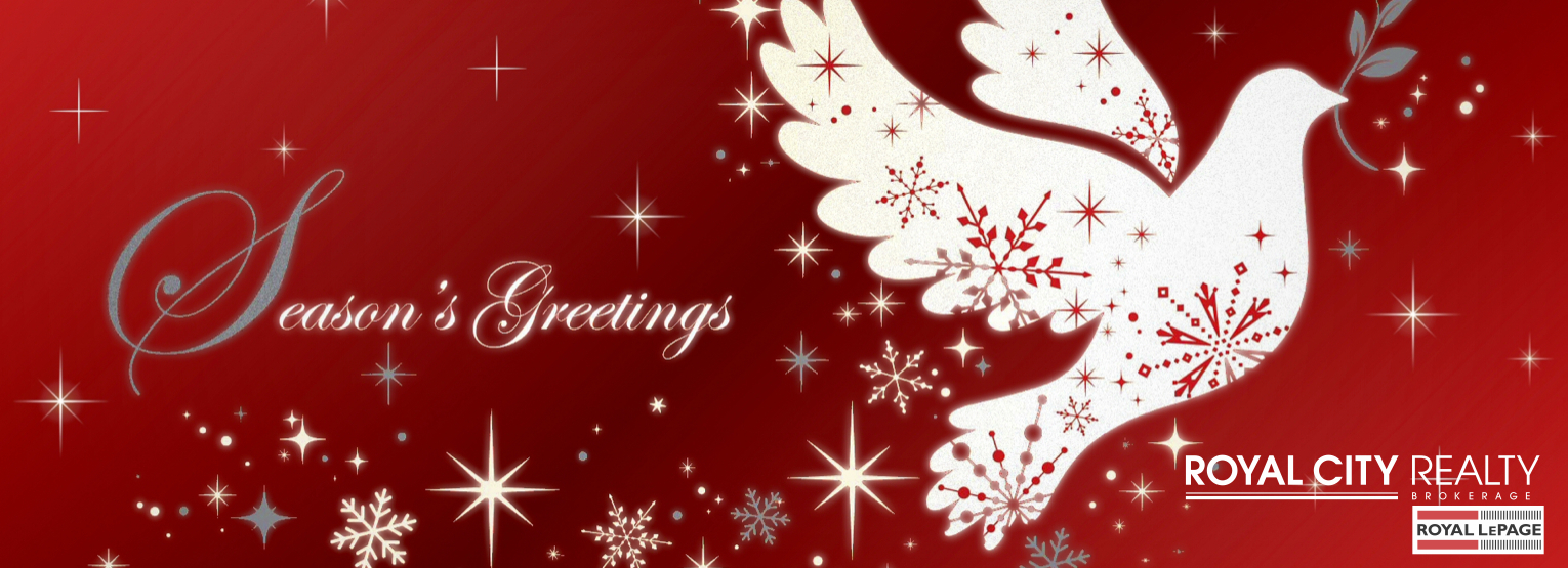 Merry Christmas Happy New Year Guelph Real Estate Agents Royal